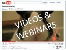 videos webinars